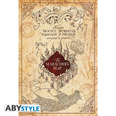 Harry Potter - Plakat - Maurauder's Map (91.5x61)