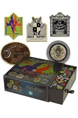Harry Potter - Puslespil - Diagon Alley Shop Signs 1000 brikker(5 x 200 )