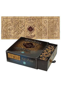 Harry Potter - Puslespil - The Marauder's Map Cover 1000 brikker