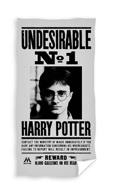 Harry Potter - undesirable no 1 Håndklæde