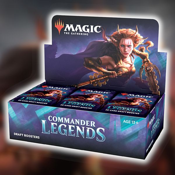 MGT: Commander Legends - Draft Booster Box (Display) - 24 Boosters (Pre-order)