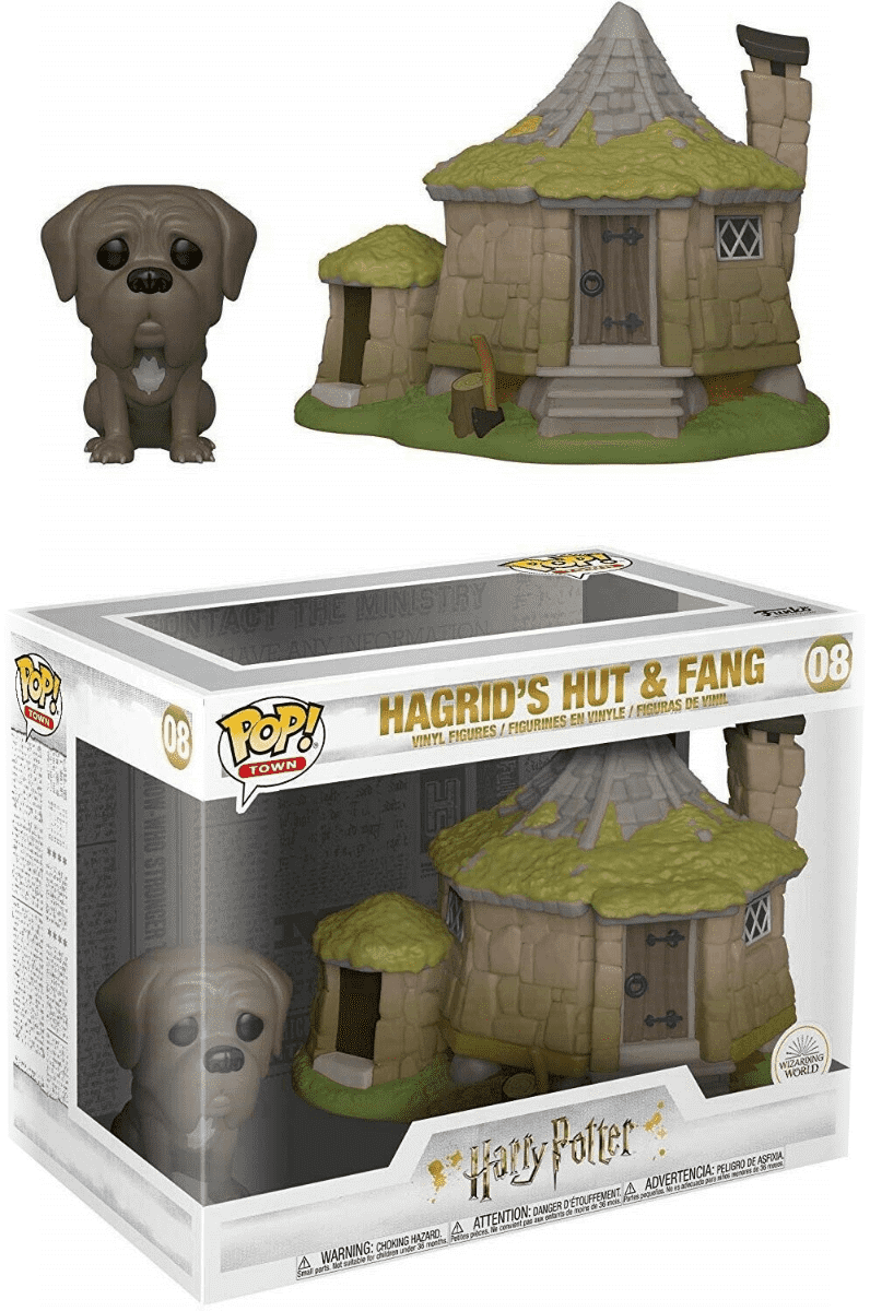 Harry Potter Pop! Hagrid´s Hut med Fang