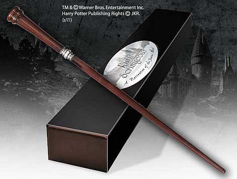 Harry Potter : Rofus Scrimgeour  wand / tryllestav (Character Editon)