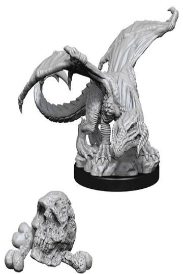 D&D Nolzur's Marvelous Unpainted Miniatures: Black Dragon Wyrmling (2 dele)