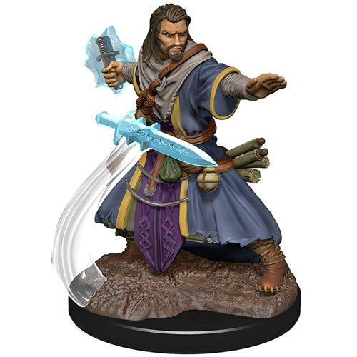 D&D Icons of the Realms Premium Figures: Male Human Wizard (1 stk - malet)
