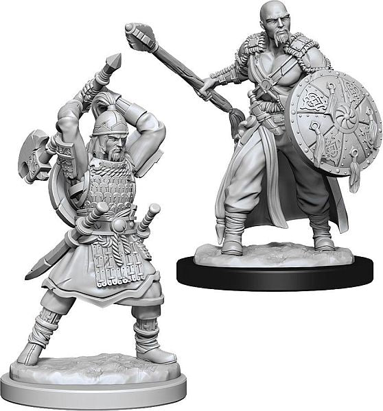 D&D Nolzur's Marvelous Unpainted Miniatures: Male Human Barbarian #3 ( 2 stk)