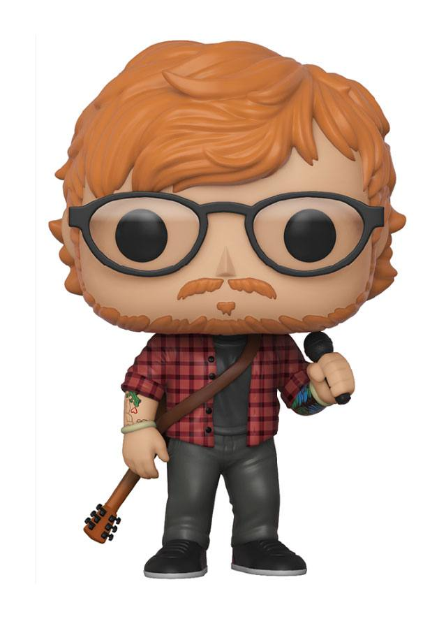 Ed Sheeran POP! Rocks Vinyl Figure Ed Sheeran 9 cm
