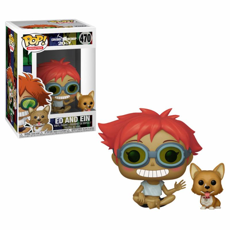 Cowboy Bebop POP! Animation Vinyl Figure Edward & Ein 9 cm