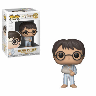 Harry Potter - POP! Movies Vinyl Figure Harry Potter (PJs) 9 cm