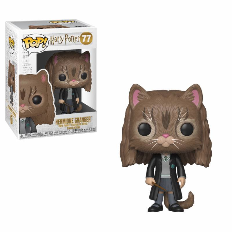 Harry Potter - POP! Movies Vinyl Figure Hermione as Cat 9 cm