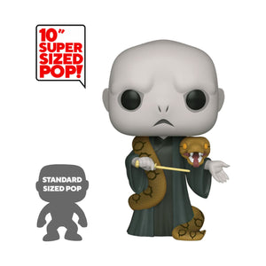 Harry Potter Super Sized POP! Movies Vinyl Figure Voldemort w/Nagini 25 cm