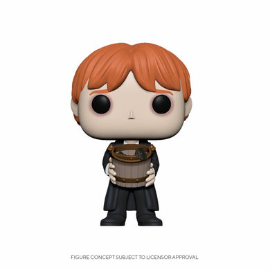 Harry Potter - POP! Movies Vinyl Figure Ron Puking Slugs w/Bucket 9 cm