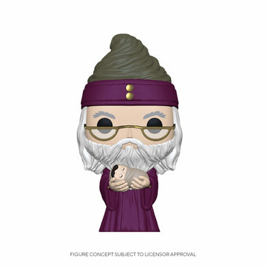 Harry Potter - POP! Movies Vinyl Figure Dumbledore w/Baby Harry 9 cm