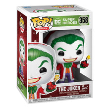 Indlæs billede til gallerivisning DC Comics POP! Heroes Vinyl Figure DC Holiday: The Joker as Santa 9 cm