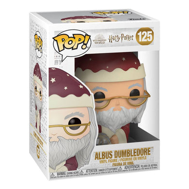 Harry Potter POP! Vinyl Figure Holiday Albus Dumbledore 9 cm [Pre-order]