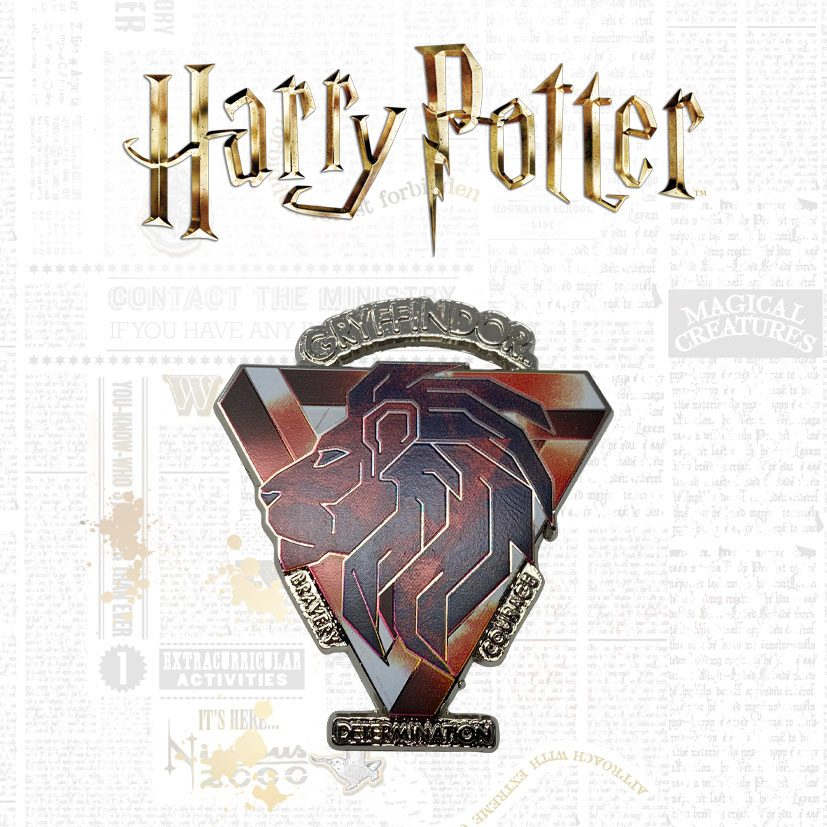 Harry Potter - Pin Badge Gryffindor - Limited Edition (9.995)