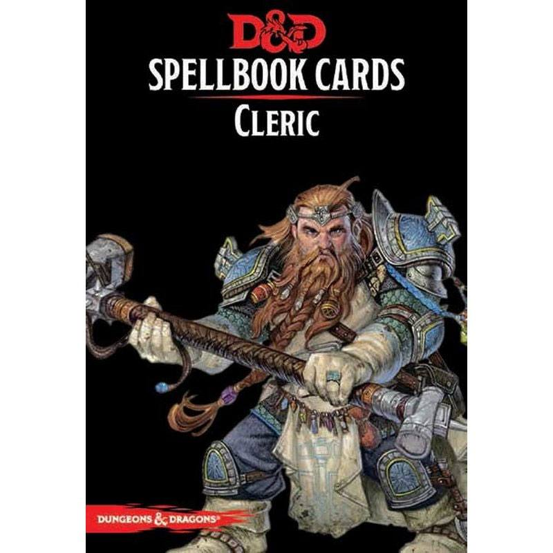 Dungeons and Dragons -  Spellbook Cards: Cleric Deck *Engelsk version*