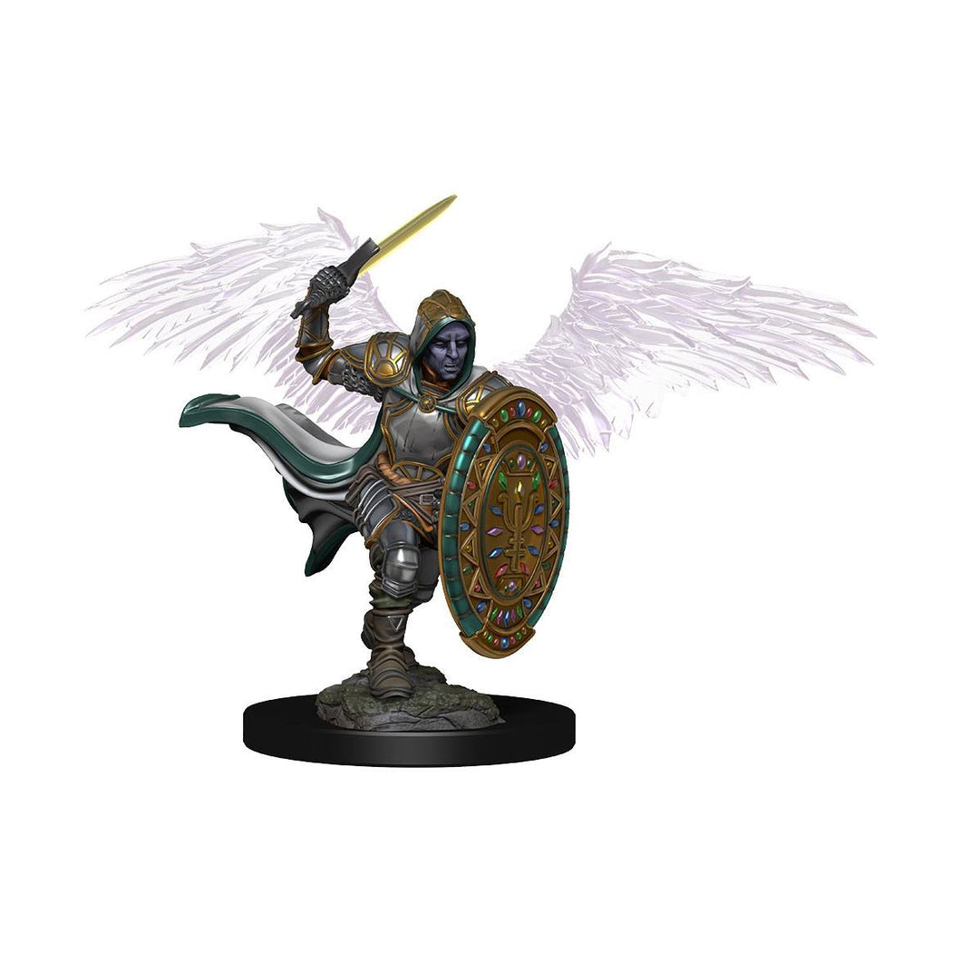 D&D Icons of the Realms Premium Miniature pre-painted Aasimar Male Paladin  (1 stk - Malet)