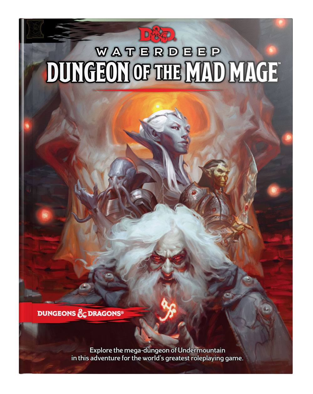 Dungeons & Dragons RPG Adventure Waterdeep: Dungeon of the Mad Mage