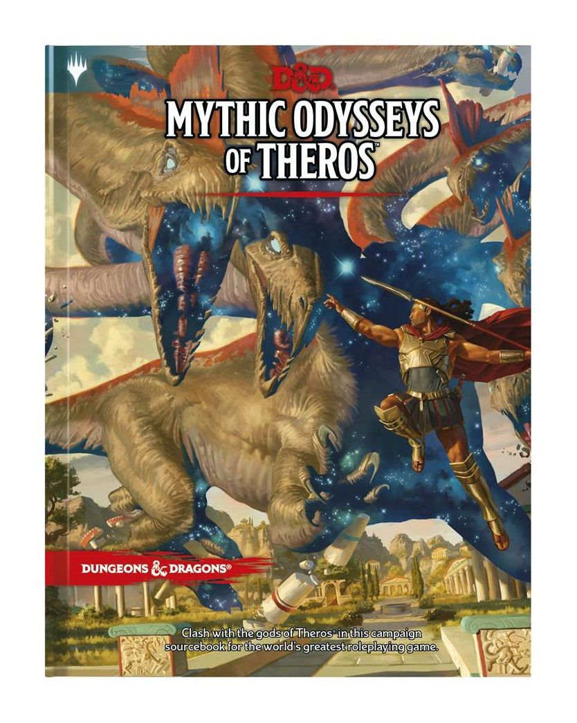 Dungeons and Dragons -Adventure Mythic Odysseys of Theros Engelsk