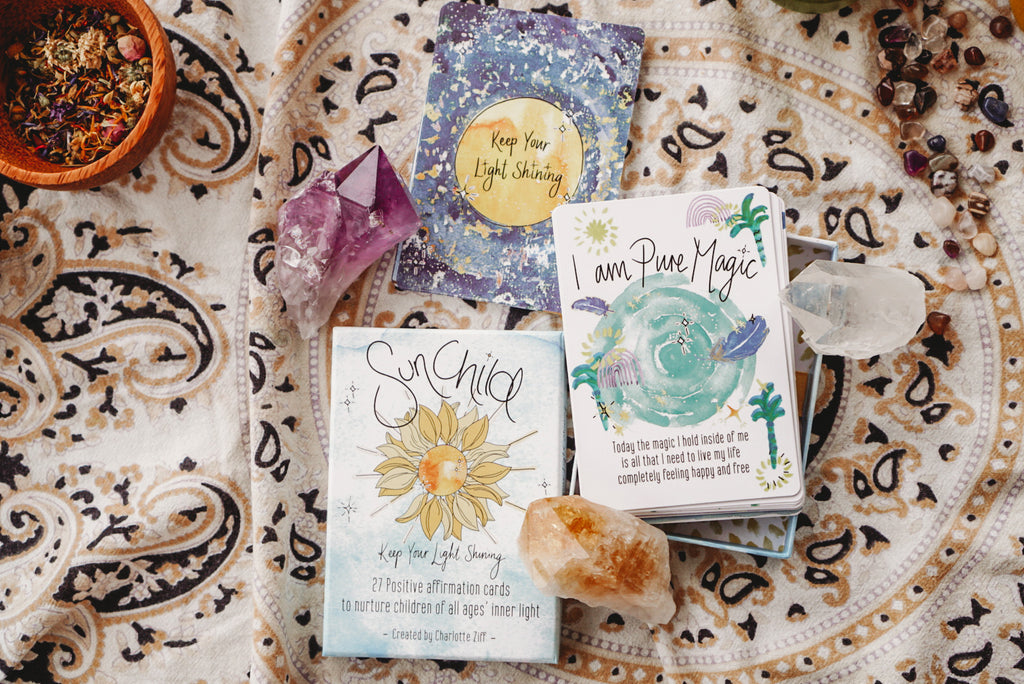 SunChild - Affirmation Cards