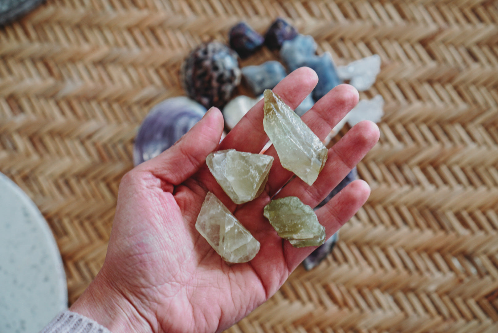 Calcite Rough Chunks - Wild Ones Play