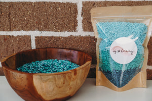 Sensory Rice - Ocean - Wild Ones Play