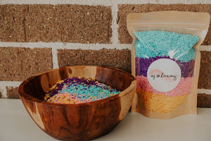 Sensory Rice - Spring Confetti - Wild Ones Play