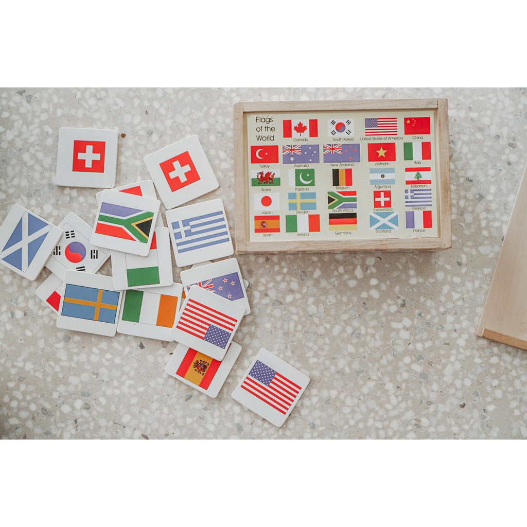 Memory Game - Flags 48pc - AJ&Henny