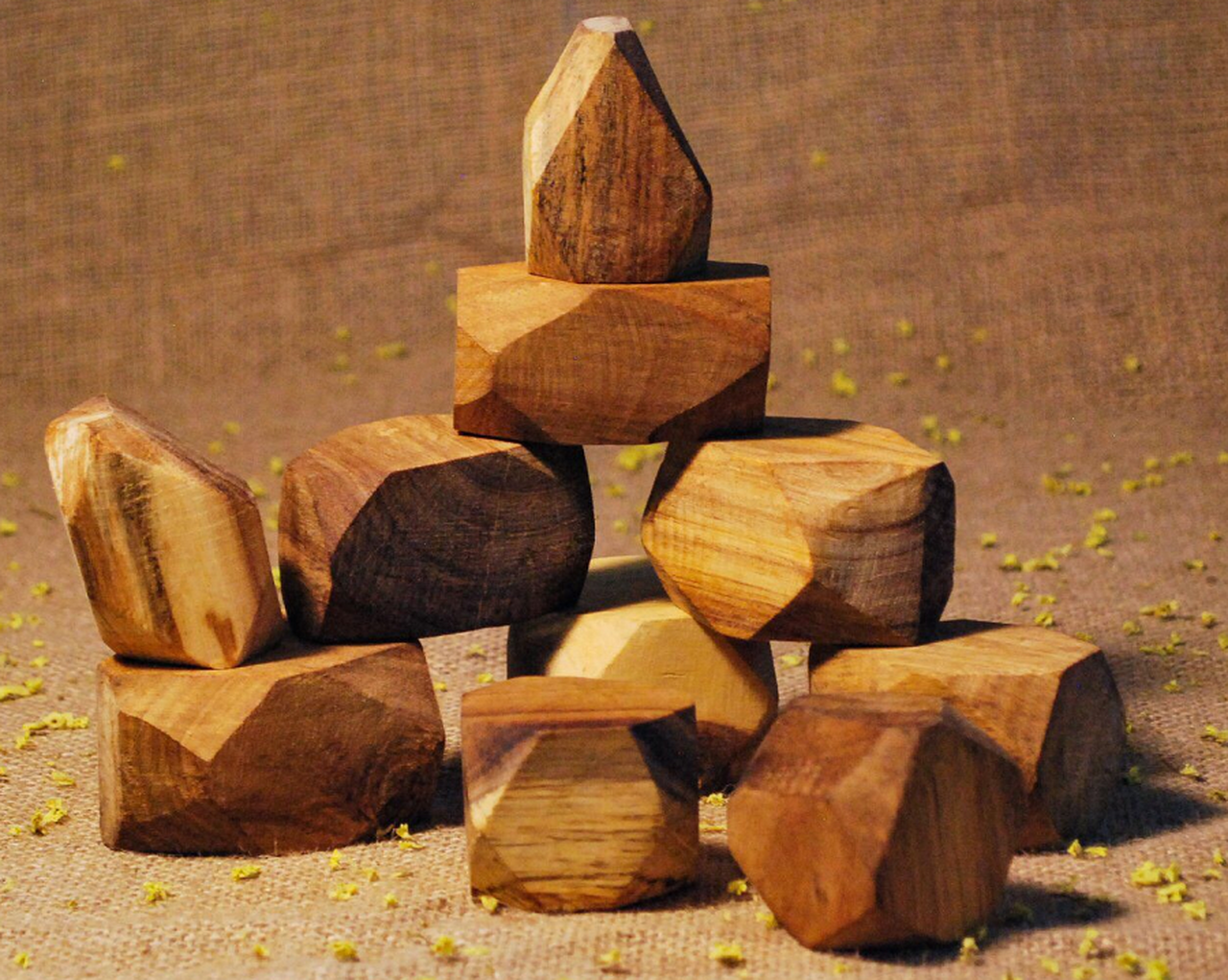 Natural Wooden Gems - AJ&Henny