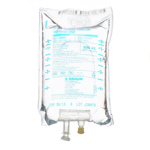 B. Braun P5941 Lidocaine HCL in 5% Dextrose, Flexible Bag (Case of 24)-Preferred Medical Plus