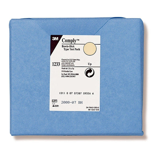 3M 1233LF Comply Bowie-Dick Plus Sterilization Test Pack-Preferred Medical Plus