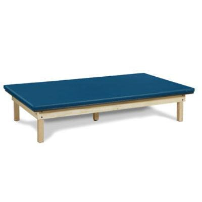 Clinton Industries 260 Value Series Upholstered Top Mat Therapy Table-Preferred Medical Plus