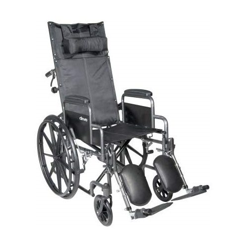 McKesson 146-SSP18RBDDA Reclining Wheelchair-Preferred Medical Plus