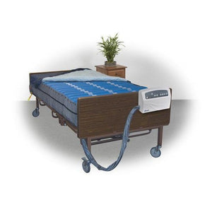 "Drive Medical 14030 Med-Aire Plus 10"" Bariatric Alternating Pressure and Low Air Loss Mattress Replacement System-Preferred Medical Plus"