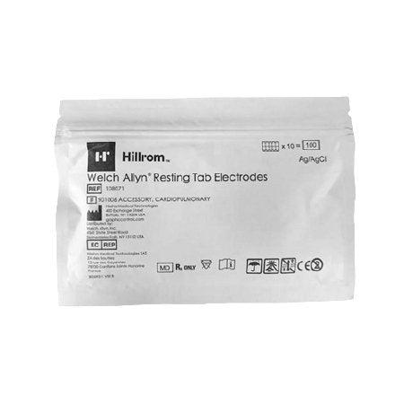 Welch Allyn 108071 Resting Tab Electrodes (Case of 5000)-Preferred Medical Plus
