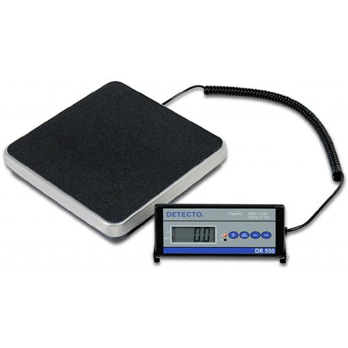Detecto DR550C Stainless Steel Portable Floor Scale-Preferred Medical Plus