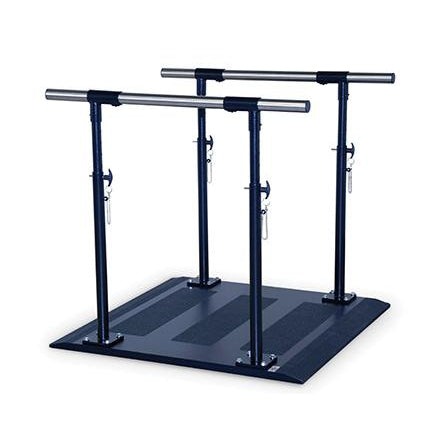 Hausmann Industries 1310 Parallel Bars Mobility Platform-Preferred Medical Plus