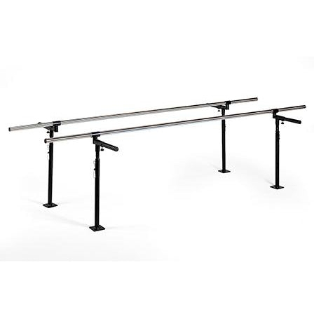 Hausmann Industries 1340 Floor Mounted Parallel Bars-Preferred Medical Plus