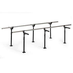 Hausmann Industries 1388 Floor Mounted Bariatric Parallel Bars-Preferred Medical Plus