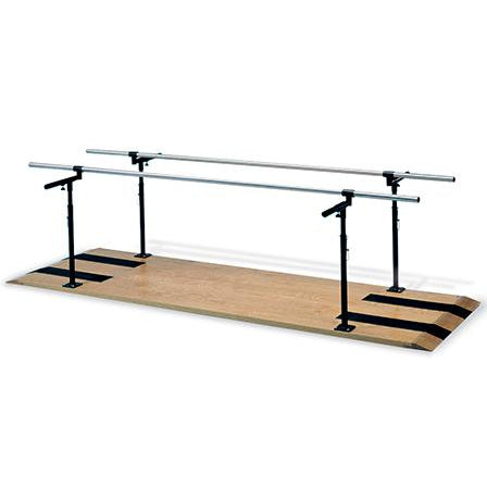 Hausmann Industries 1391 Height and Width Adjustable Parallel Bars-Preferred Medical Plus