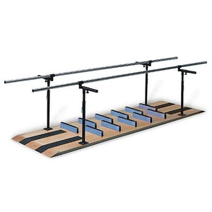 Hausmann Industries 1393 Parallel Bars Mobility Platform-Preferred Medical Plus