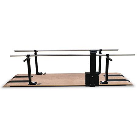 Hausmann Industries 1396 Power Height Parallel Bars-Preferred Medical Plus