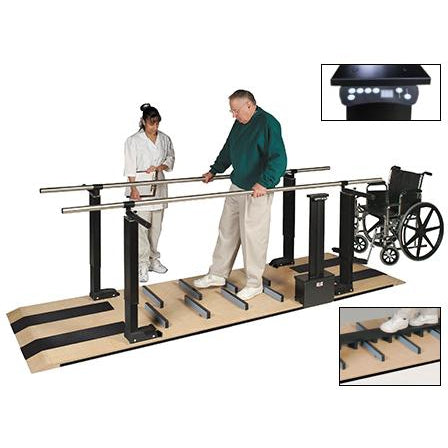 Hausmann Industries 1398 Mobility Platform with Electric Height Bars-Preferred Medical Plus