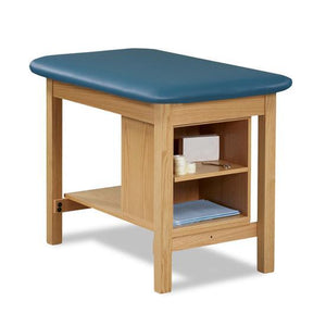Clinton Industries 1703 Taping Table with End Shelf-Preferred Medical Plus