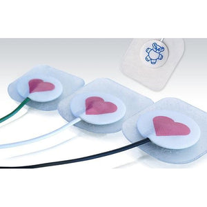 Conmed 1741C-003 Pediatric ECG Electrode Neotrode II RTL Leadwires Pre-attached (Case of 300)-Preferred Medical Plus