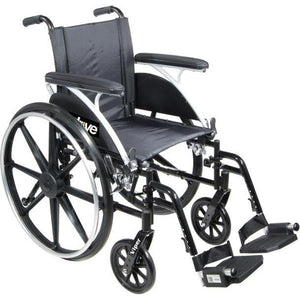 Drive Medical L412DDA-SF Viper Deluxe Lightweight Wheelchair-Preferred Medical Plus