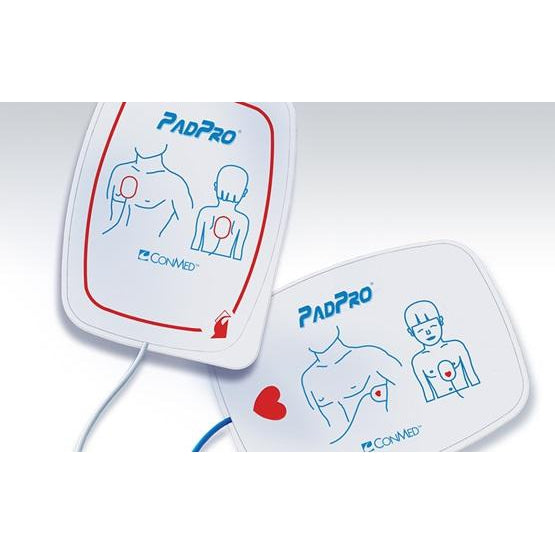Conmed 2516R PadPro Defibrilator Electrode Pads Adult (Case of 10)-Preferred Medical Plus