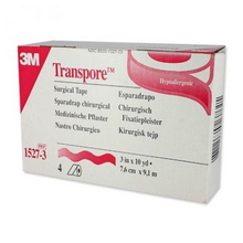 3M 1527-3 Transpore Surgical Tape (3 in. x 10 yd.)-Preferred Medical Plus