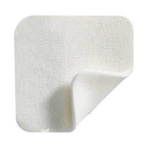 Molnlycke 294199 Mepilex Silicone Foam Dressing Without Border (4 in. x 4 in.)-Preferred Medical Plus